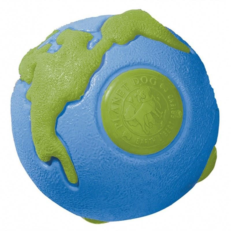 Outward Hound Orbee Ball Mavi-Yeşil Gezegen Ödül Koyulabilen Köpek Oyuncağı