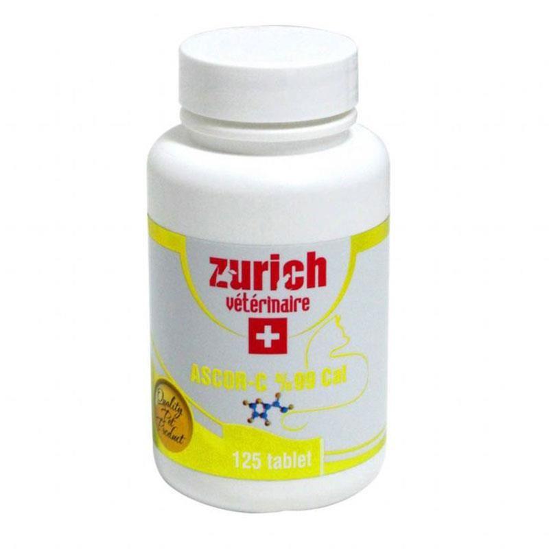 Zurich Kediler İçin C Vitamini Bağışıklık Desteği Tablet 125 Adet