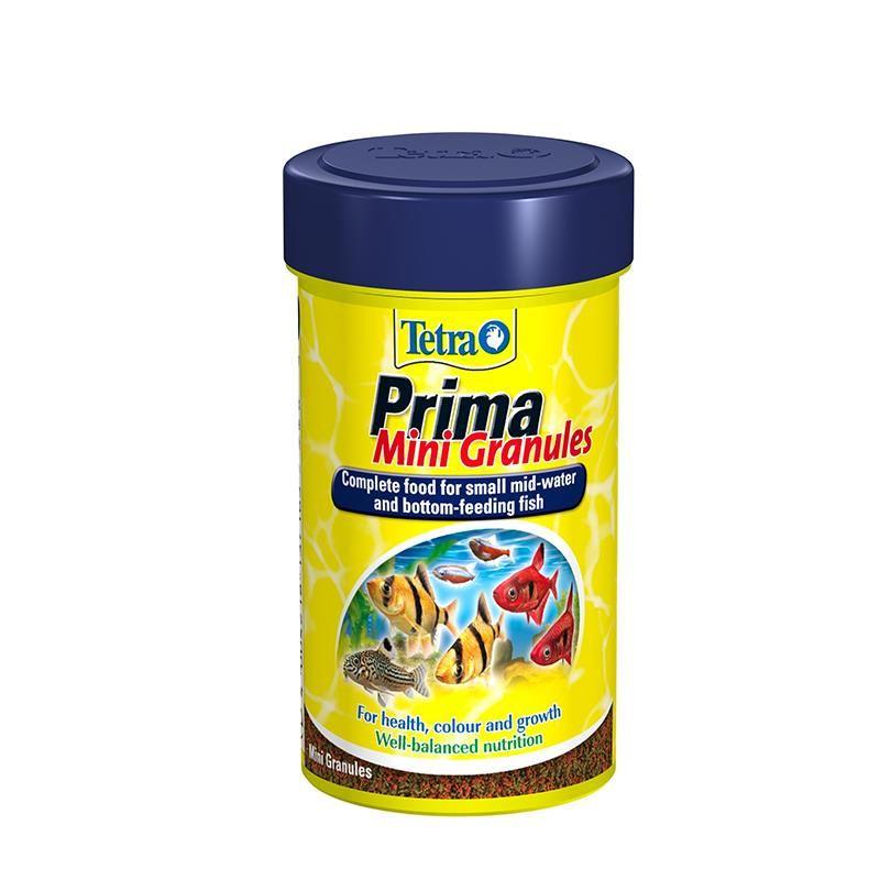 Tetra Prima Mini Granules Tropikal Balık Yemi 45 Gr 100 Ml