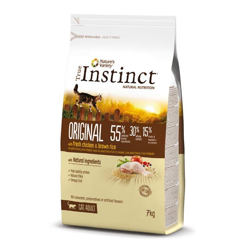 Instinct Original Tavuklu Yetişkin Kedi Maması 7 Kg