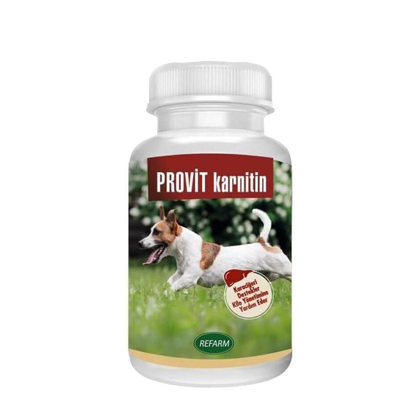 Provit Karnitin Köpek Karaciğer Destekleyici Toz 100 Gr