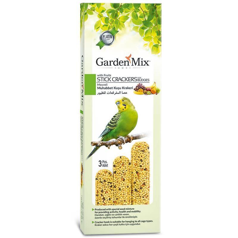 Gardenmix Platin Meyveli Kuş Krakeri 3lü