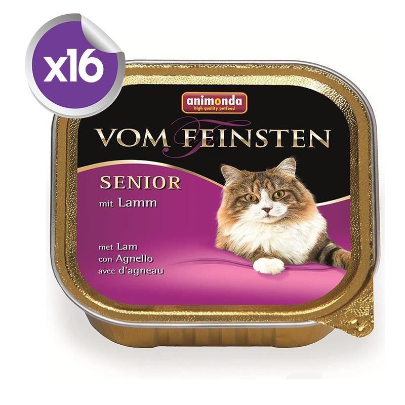 Animonda Senior Kuzu Etli Yaşlı Kedi Konservesi 100 Gr x16