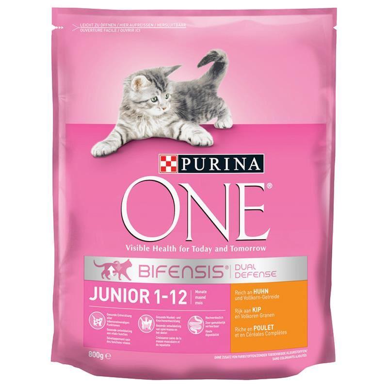Purina One Junior Tavuklu Yavru Kedi Maması 800 Gr