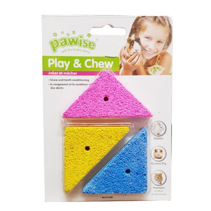 Pawise Kemirme Oyuncağı Lava Bites 3 Adet