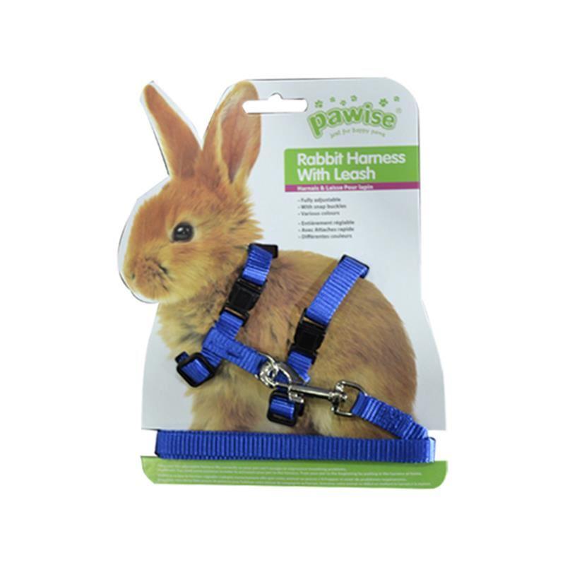 Pawise Tavşan Göğüs Tasması Takımı Mavi