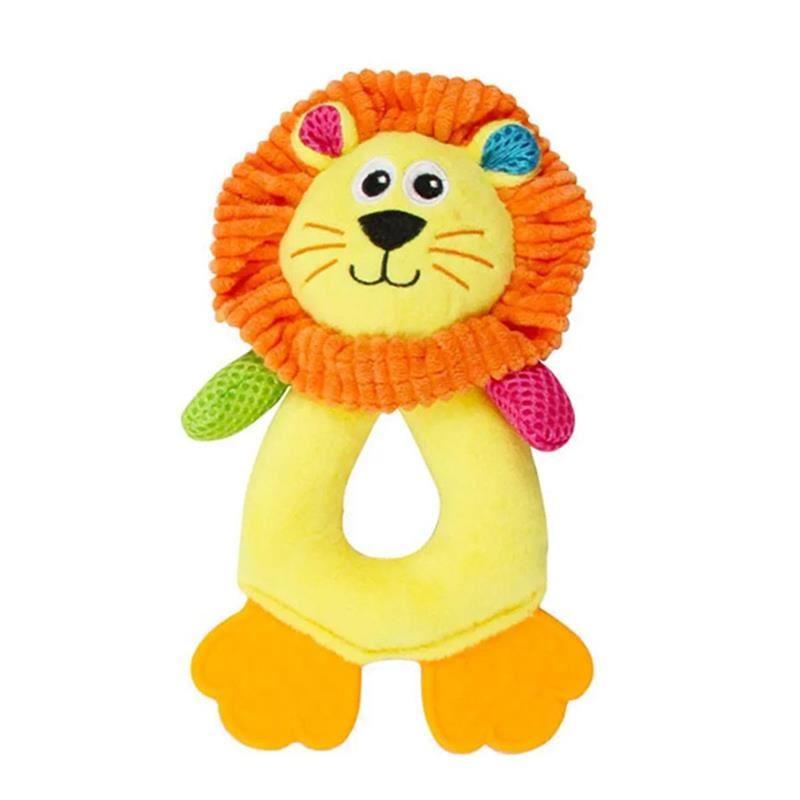 Pawise Vivid Life Hollow Lionet Sesli Peluş Köpek Oyuncağı 17 Cm