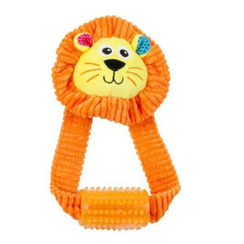 Pawise Vivid Life Lionet With Tugger Sesli Peluş Köpek Oyuncağı 23 Cm