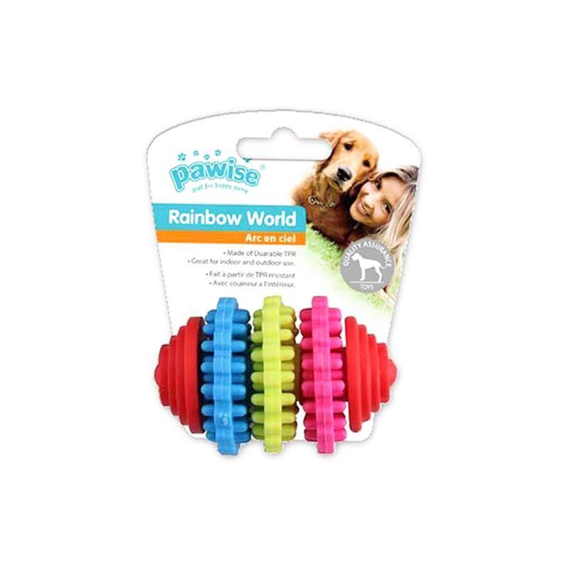 Pawise Rainbow World Dişli Köpek Oyuncağı 8 Cm