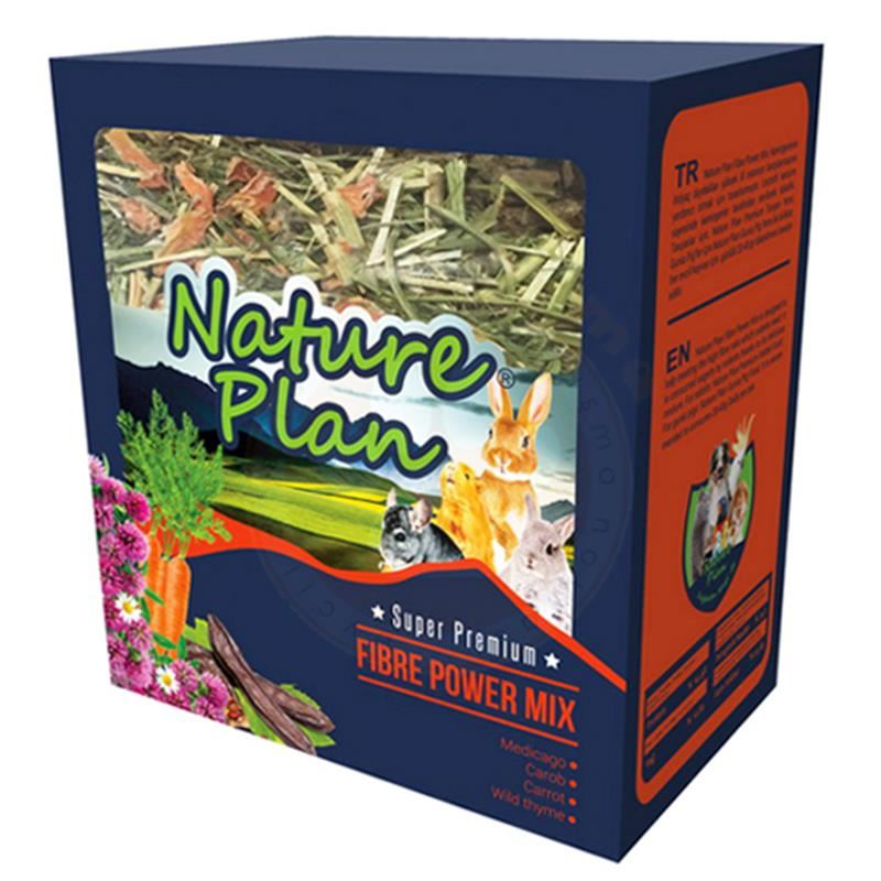 Nature Plan Fibre Power Mix Kemirgen Yemi 700 Gr