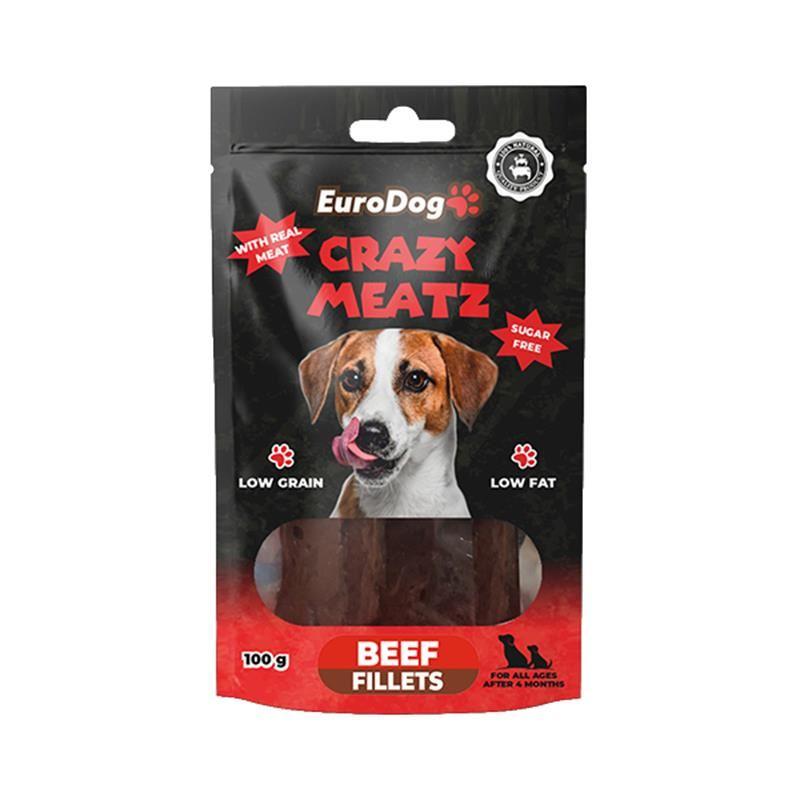 EuroDog Beef Fillet Köpek Ödülü 100 Gr