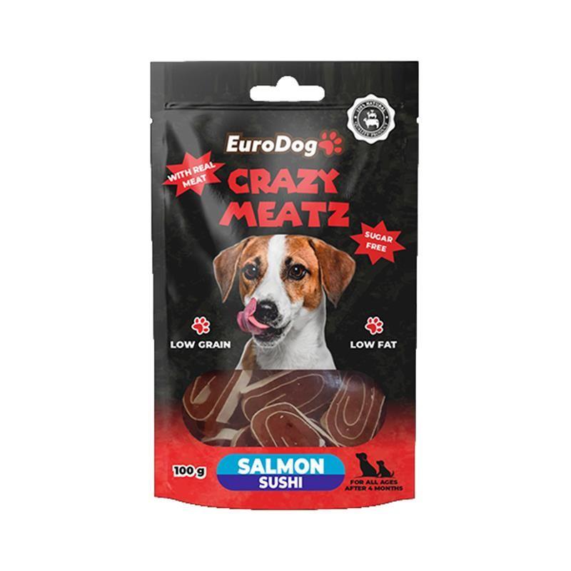 EuroDog Somon Sushi Köpek Ödülü 100 Gr