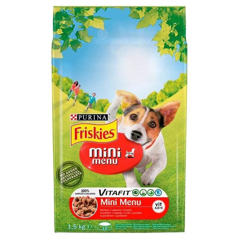 Friskies Etli Mini Menü Köpek Maması 1.5 Kg