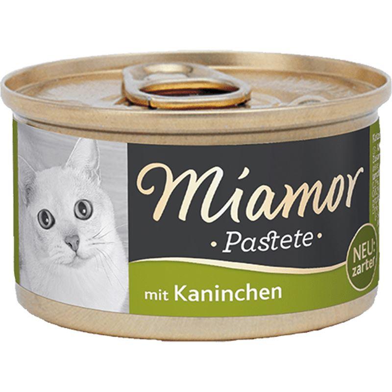 Miamor Pastete Tavşanlı Yetişkin Kedi Konservesi 85gr