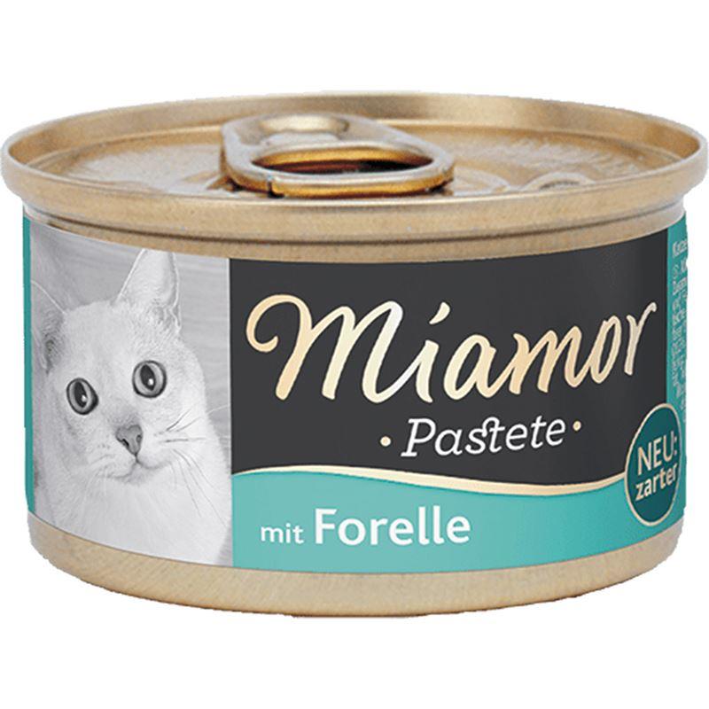 Miamor Pastete Alabalıklı Kedi Konservesi 85gr