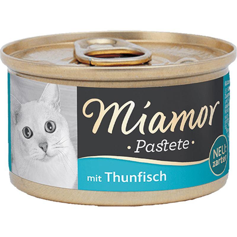 Miamor Pastate Ton Balıklı Kedi Konservesi 85gr