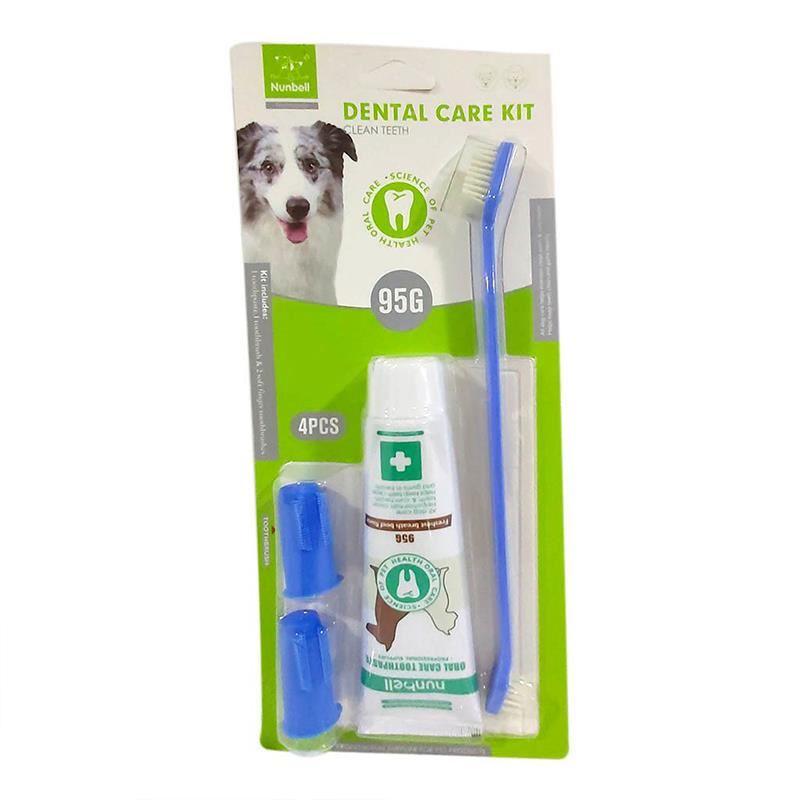 Nunbell Dental Care Kit Et Tadında Fırça Diş Macunu Seti