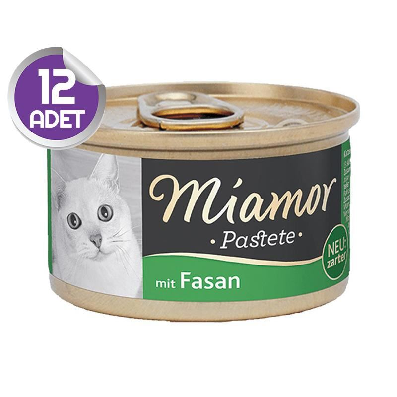 Miamor Pastete Sülün Etli Yetişkin Kedi Konservesi 85gr x12