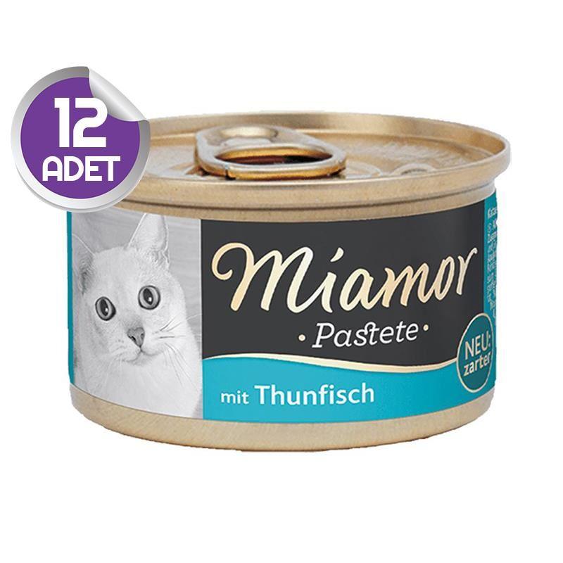 Miamor Pastate Ton Balıklı Kedi Konservesi 85gr x12