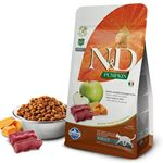 ND Pumpkin Balkabaklı Geyik Etli Elmalı Kedi Maması 1,5 Kg