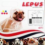 Lepus Köpek Yağmurluğu XSmall Kırmızı