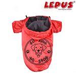 Lepus Küçük Irk Köpek Yağmurluk Mont Kırmızı XLarge