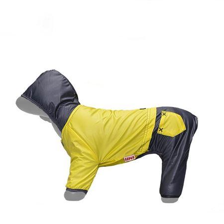 Lepus Küçük Irk Köpek Tulum Yağmurluk Sarı Medium