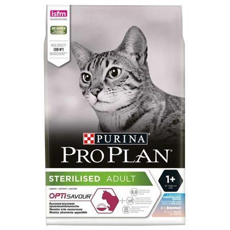 ProPlan Sterilised Morina ve Alabalıklı Kısırlaştırılmış Kedi Maması 3 kg