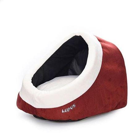 Lepus Alaska Kedi Köpek Yatağı Bordo