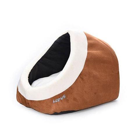 Lepus Alaska Kedi Köpek Yatağı Sütlü Kahve
