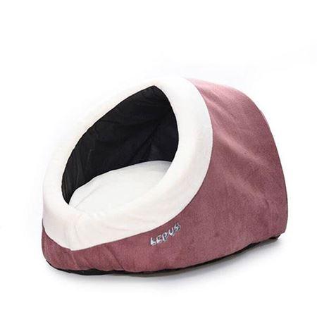 Lepus Alaska Kedi Köpek Yatağı Gül Kurusu
