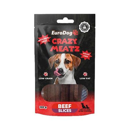 EuroDog Beef Slice Köpek Ödülü 100 Gr