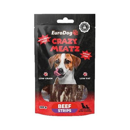 EuroDog Beef Strips Köpek Ödülü 100 Gr