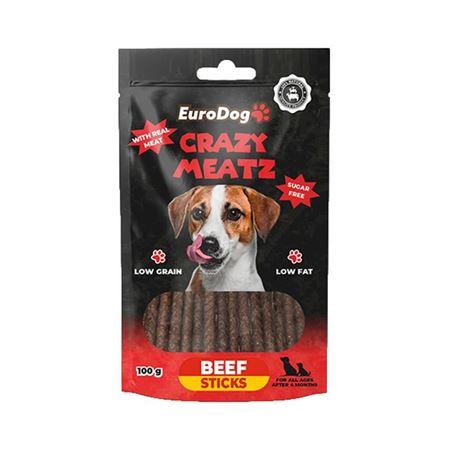 EuroDog Beef Sticks Köpek Ödülü 100 Gr