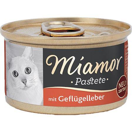 Miamor Pastete Ciğerli Yetişkin Kedi Konservesi 85gr